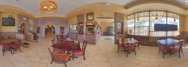 Restaurant Virtual Tour